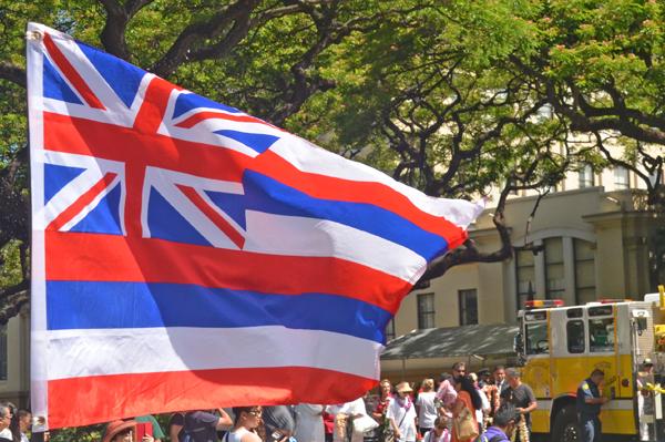 ハワイ州の旗マーク