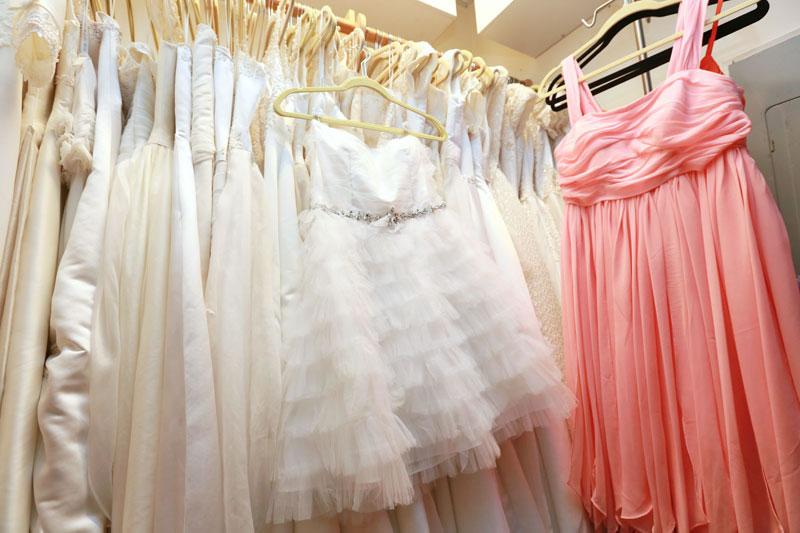 フェイシズスタジオのウエディングドレスは豊富