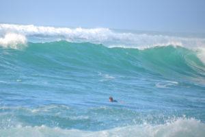 ハワイノースショアの高波
