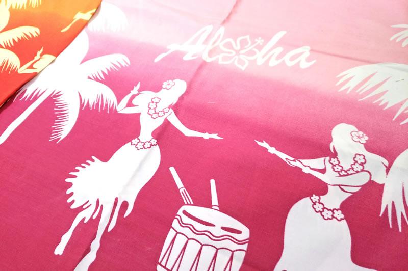 パウスカートやロミロミシーツに利用されるハワイの生地