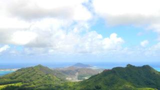 ヌウアヌパリ展望台からの眺め
