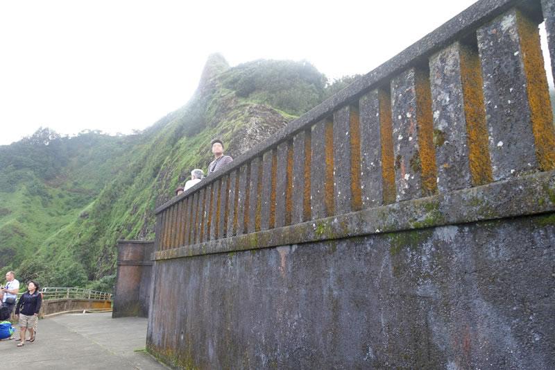 ヌウアヌパ展望台の見晴台