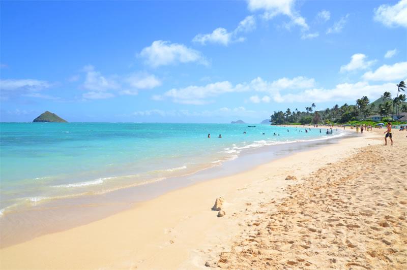 ラニカイビーチ(Lanikai Beach)ラニカイビーチ