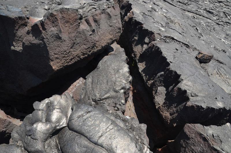 ハワイ島の溶岩