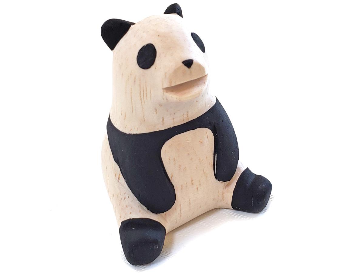 ぽれぽれ動物のインテリア雑貨パンダ