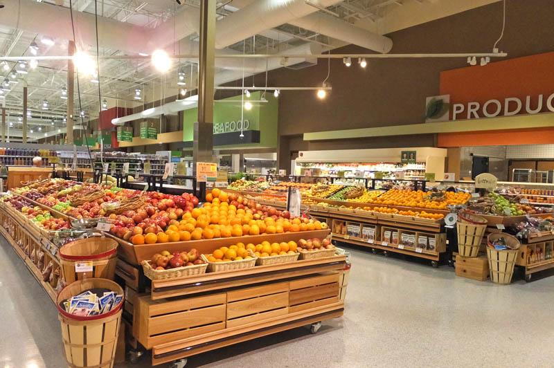 アメリカのスーパー店内