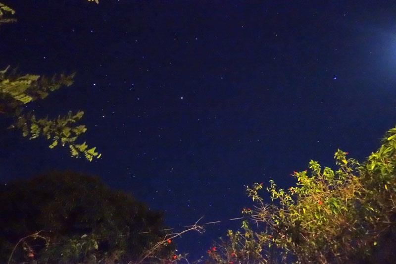 モロカイ島の満天の星空