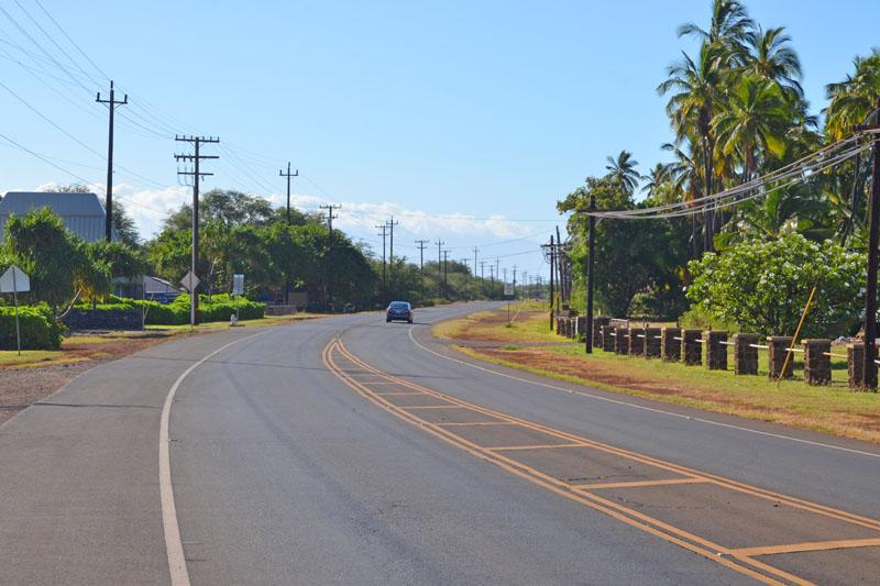 モロカイ島の道路