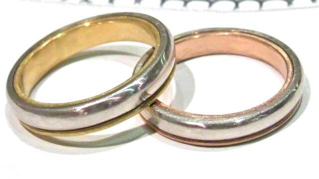 ケイウノのディズニーデザイン指輪