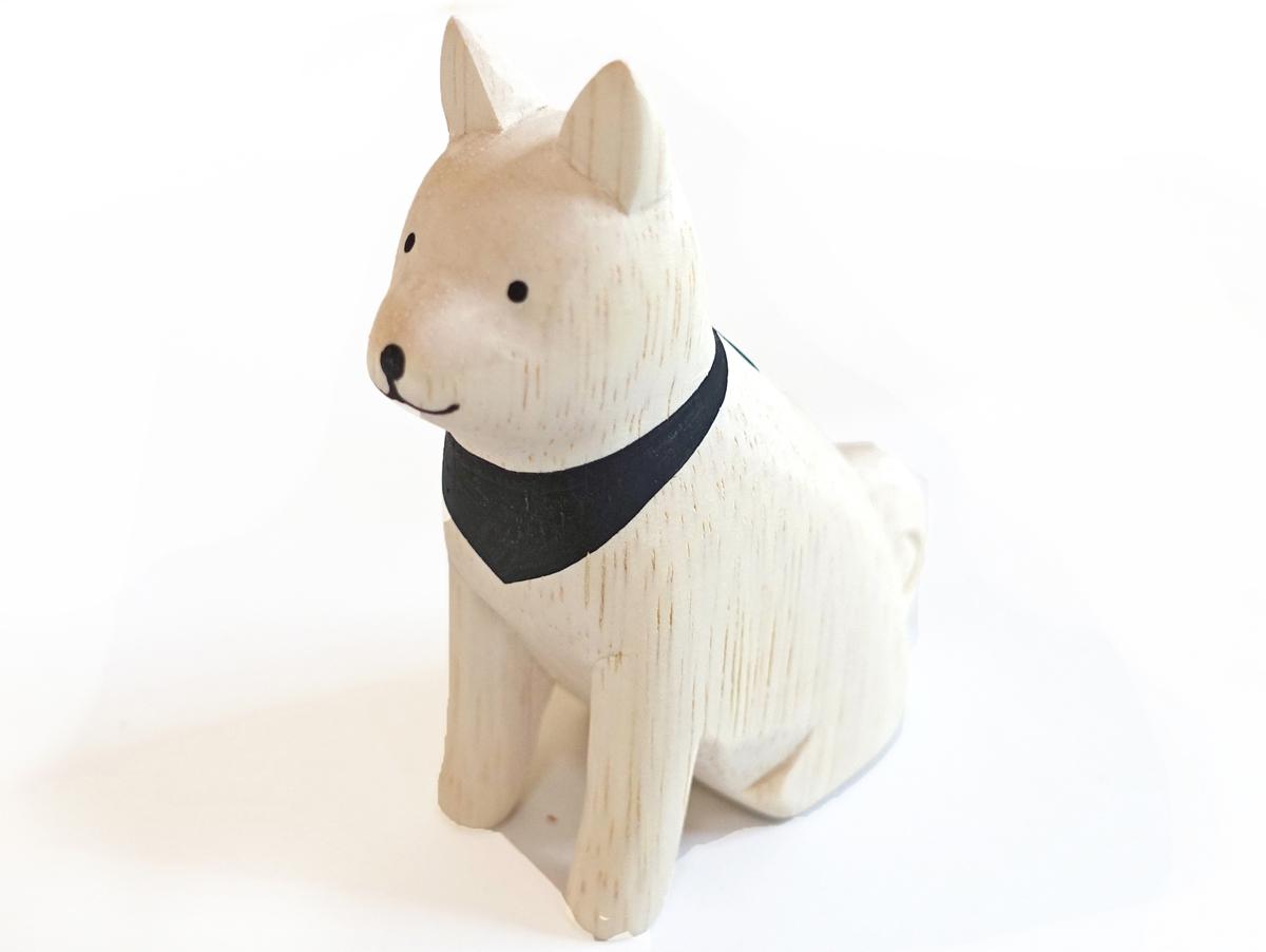 ぽれぽれ動物のインテリア雑貨親子秋田犬